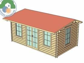 Bormio 6x3 Log Cabin