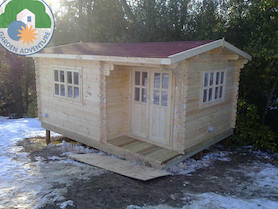 Canazei Plus 5x4 Log Cabin