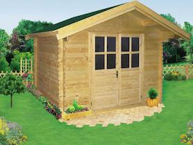 Cavalese 3x3 Log Cabin