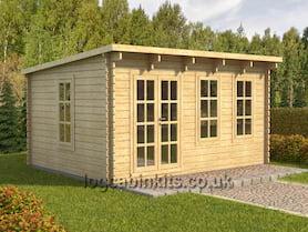 Cesano 5x3 Log Cabin