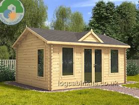 Clockhouse 5x4 Log Cabin
