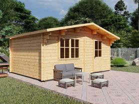 Friston Log Cabin