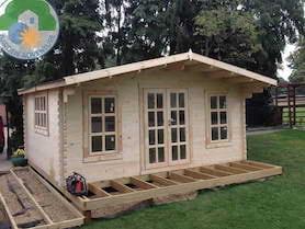Grande Log Cabin