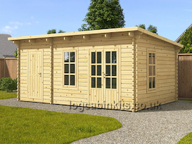 Livata 6x3 Log Cabin