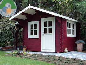 Lusia 3x3 Log Cabin