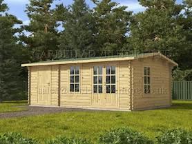 Meribel 4x3 Log Cabin