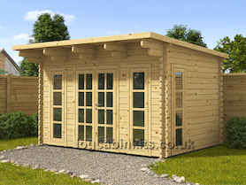 Nevoso 6x3 Log Cabin