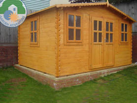 Oxford Plus 4x3 Log Cabin