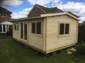Selva 5x3 Log Cabin