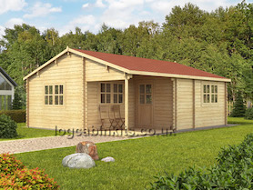Tania Log Cabin