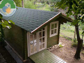 Trentino Plus 3x4 Log Cabin