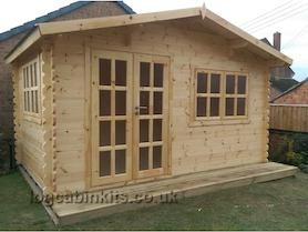 Trentino Plus 4x3 Log Cabin