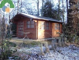 Trentino Plus 4x5 Log Cabin