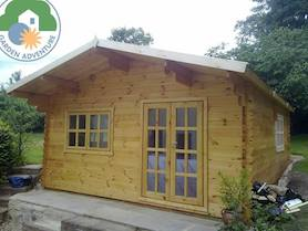 Trentino Plus 5x6 Log Cabin
