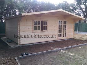 Trentino Plus 6x5 Log Cabin