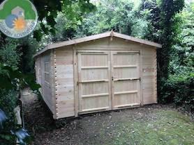 Wooden 4x6  Garage