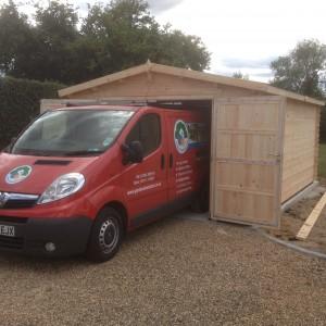 Timber Garage 4x6